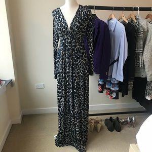 Rachel Pally Long Sleeve Caftan Maxi Dress